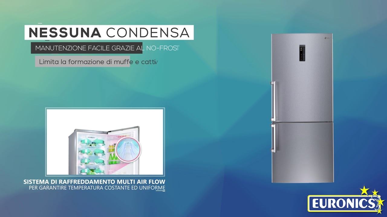 LG | Frigorifero Combinato 70cm | GBB548NSQZB | Classe energetica A ...