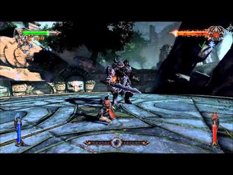 Castlevania Lords of shadow ultimate edition Chapter 2 final boss, black knight |