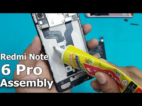 Xiaomi Redmi Note 6 Pro all Parts Reassembly How to Replace Redmi Note 6 Pro Battery