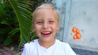 Дети и папа - истории про сладости и конфеты и правильное поведение