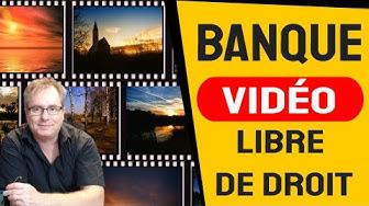 🔴▶▶ BANQUE VIDEO GRATUITE LIBRE DE DROIT SANS ABONNEMENT
