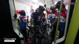 Full-sized bicycles now welcome on LRT trains: Rapid Rail