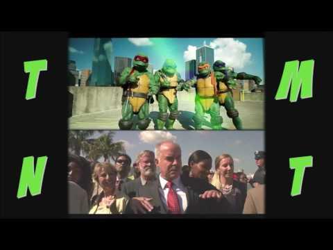 Teenage Mutant Ninja Turtles Throwback! - Rock The Halfshell Mashup - Partners In Kryme - TMNT