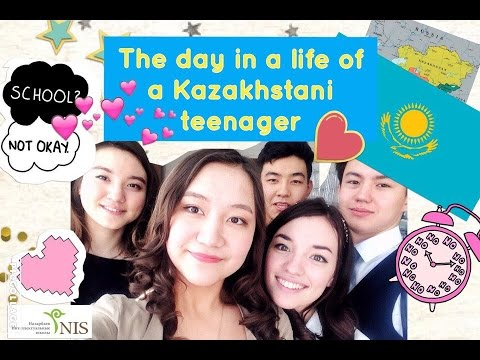 THE DAY IN THE LIFE OF A KAZAKHSTAN TEENAGER