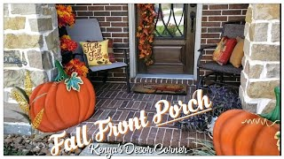 Fall Front Porch | Decorate With Me | Fall Autumn Outdoor Decor