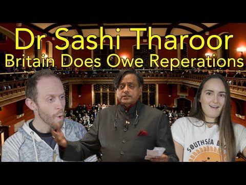 British Reaction to Dr Shashi Tharoor MP- Britain Does Owe Reparations |  Head Spread | Reaction