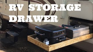 DIY RV Storage Drawer