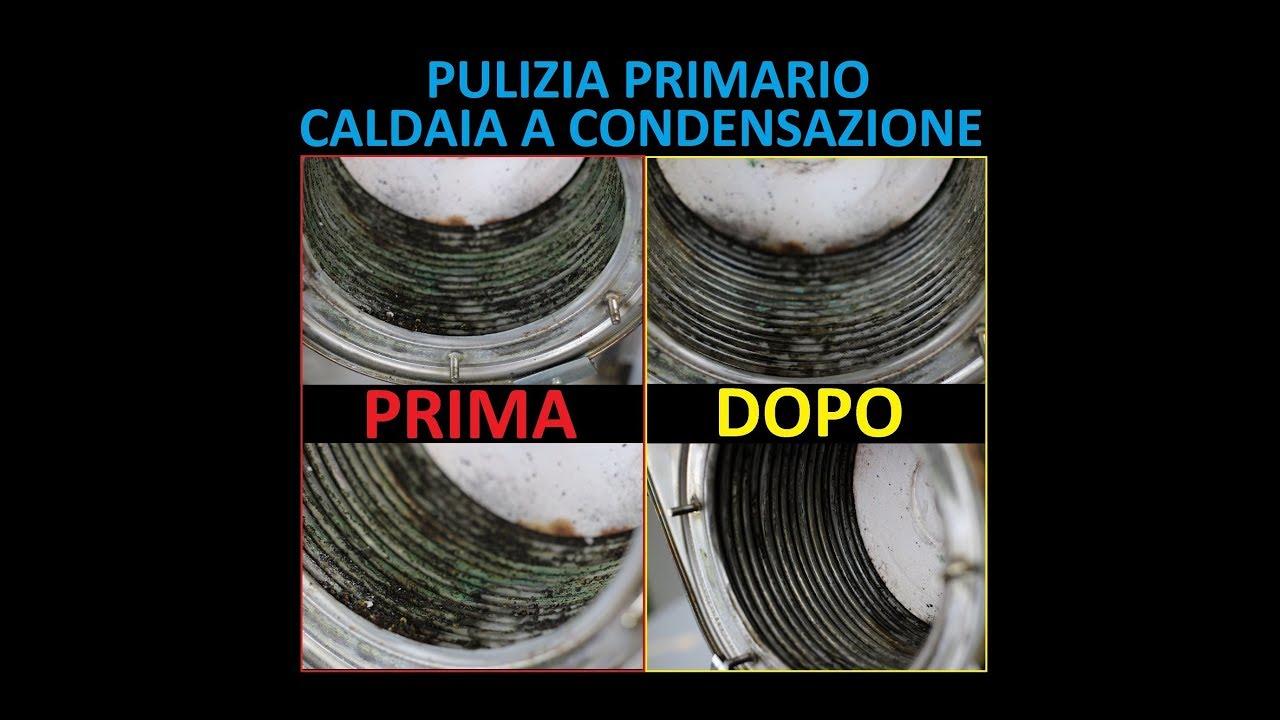 Pulizia Primario Caldaia A Condensazione Con Foridra F Inox Youtube