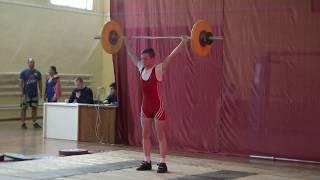 Ксенофонтов Матвей, 14 лет,с в  46 Рывок 52 кг 3 подход Есть личный рекорд!