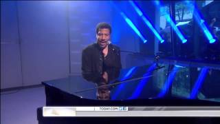 Lionel Richie ,HD,  Hello ,live ,Today Show,HD 1080p
