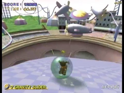 Super Monkey Ball 2: AD 7 Gravity Slider 12956 PAL