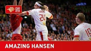 Amazing spin goal! Denmark