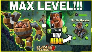 "NEW HERO ""BATTLE MACHINE"" UNLOCKED IN CLASH OF CLANS!! - EPIC GEM SPREE -Tamil"