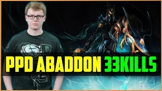 EG.ppd carry Abaddon 33kills | Dota 2 pub gameplay
