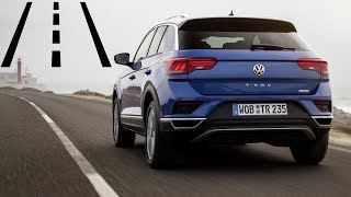Volkswagen T-Roc: Lane Assist + Active Cruise Control real life test :: [1001cars]