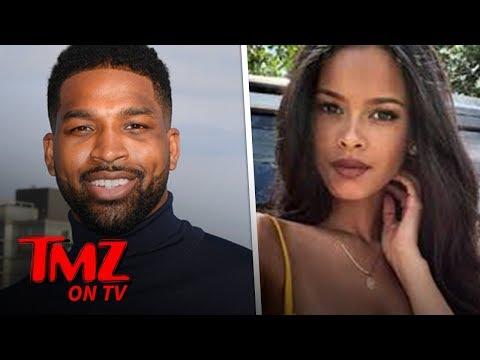 Tristan Thompson's Mystery Chick Revealed! | TMZ TV