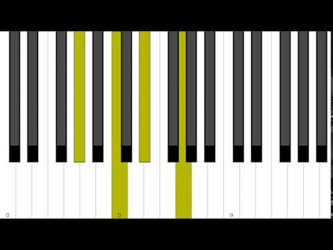 F Minor 9 Rootless Piano Chord Inversion Youtube