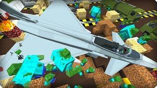 видео: На нашу базу упал истребитель [ЧАСТЬ 25] Зомби апокалипсис в майнкрафт! - (Minecraft - Сериал)
