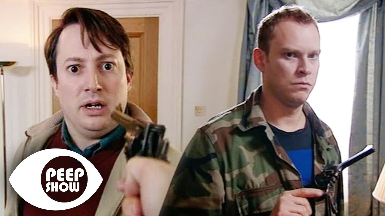 Jez Tries To Plant Gunny In Martin's Bag | Peep Show