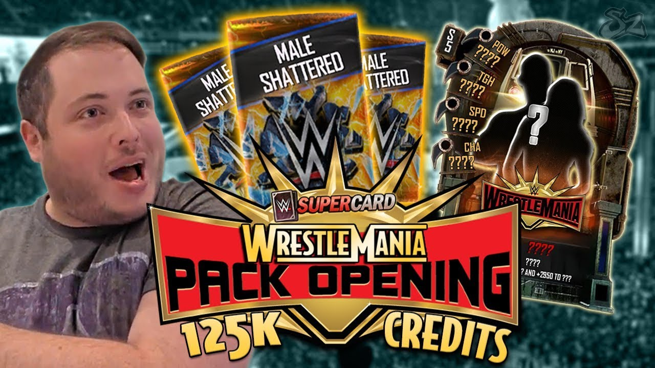 IS THIS REAL?! CRAZY 125K WRESTLEMANIA 35 TIER PACK OPENING!! | WWE SuperCard S5