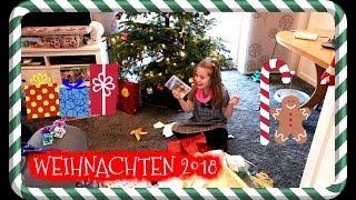 BESCHERUNG 2018 🎁 Hannah packt Heiligabend ihre Geschenke aus 🎅 Weihnachten bei den Spielzeugtester
