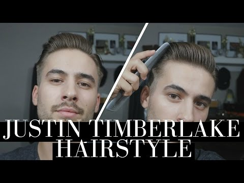 Justin Timberlake Hairstyle | Classic Gentleman Hairstyle | Mens Hair 2016
