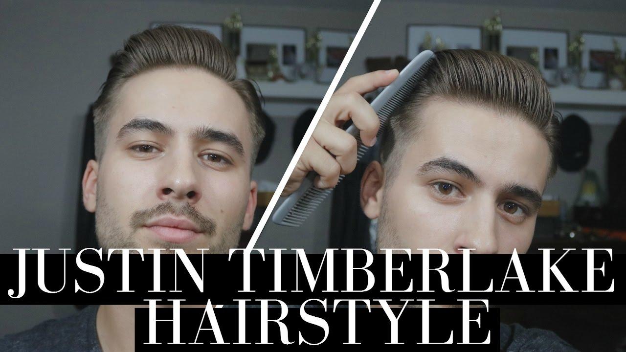 Justin Timberlake Hairstyle | Classic Gentleman Hairstyle ...