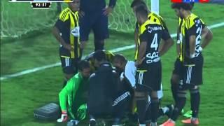 كأس مصر 2016 | إصابة حارس مرمي وادى دجلة فى الدقيقة الاولى من الوقت الاضافى...  دور الـ 16