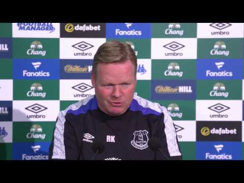 Ronald Koeman's pre-Middlesbrough press conference