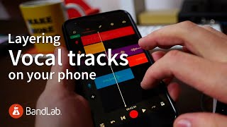 Tips and tricks to recording and layering vocal tracks on your phone ft. Eumonik screenshot 4