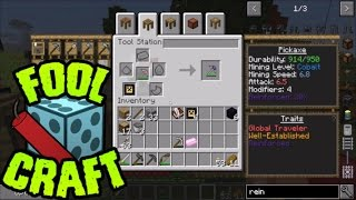 FoolCraft - Going for the OP Pickaxe - Ep 2 - Modded Minecraft