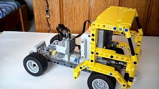 896gerards tutorials 02 | Building a simple Lego Technic Truck with the earlier built car chassis