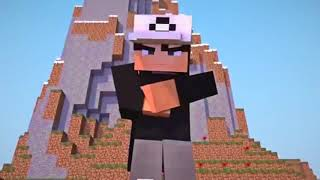 The ting go Skrra...Minecraft Intro
