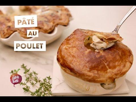 pÂtÉ-au-poulet-🥧tourte-au-poulet-🍗-recette-parfaite-pour-les-restants-de-poulet!