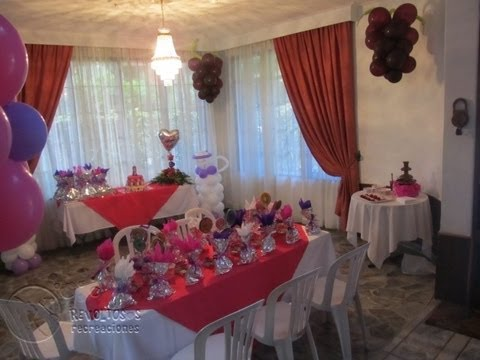 Decoracion con globos para primera comunion youtube - Comunion en casa ...