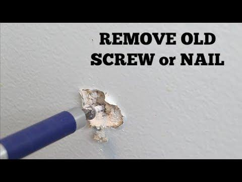 Repair Nail Pops and Holes in Sheetrock -- by Home Repair Tutor - 동영상