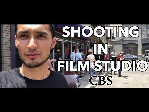 EPISODE II / SHOOTING AT THE CBS STUDIOS