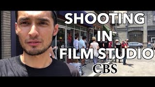 SHOOTING IN FILM STUDIO CBS / СНИМАЕМ КИНО В CBS СТУДИЙ
