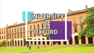 let's explore the world's best university : OXFORD University