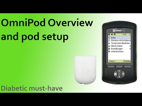 OmniPod Overview and Setup - Diabetic must-have!