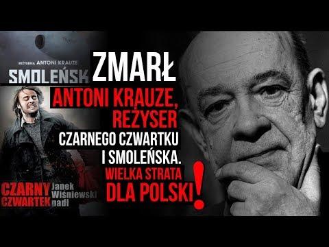 Zmarł reżyser Antoni Krauze. Wielka strata dla Polski! Kowalski&Chojecki NA ŻYWO w IPP TV 15.02.2018