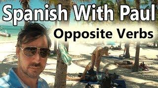 "Opposite Spanish Verbs: ""Antonyms"""