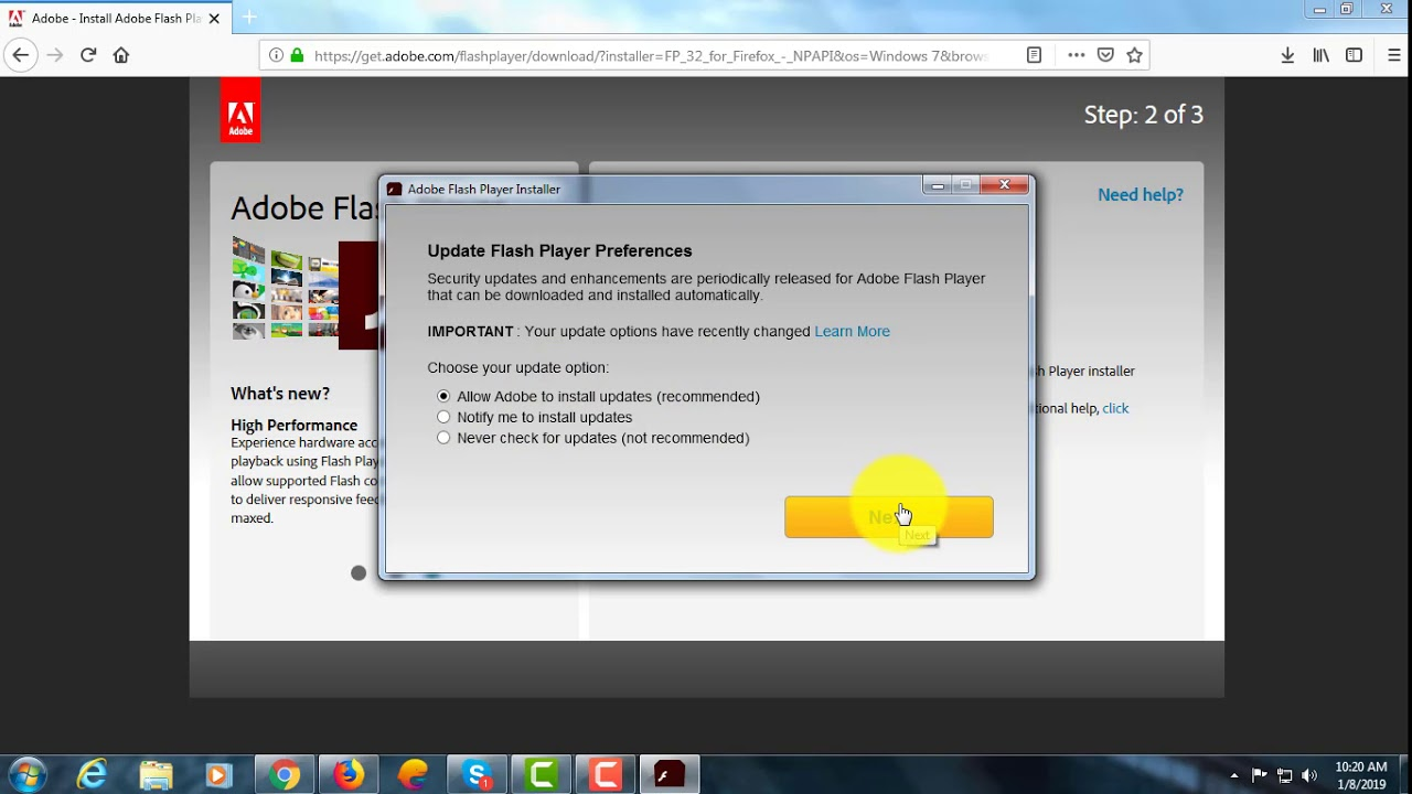 How to Install and Always Enable Flash in Mozilla Firefox