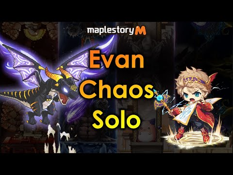 Maplestory M - Evan Chaos Boss Solo Feat. ZiEvanz