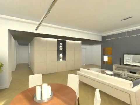 3D Classical Interior Design Near Low Quality.flv