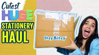 *BIGGEST* Cute Stationery Haul till date! | Heli Ved