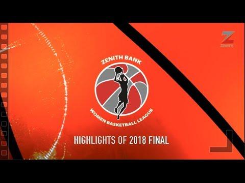 Highlights of the Zenith Bank Women Basketball League Final