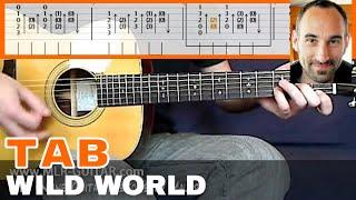 "Guitar Cover / Tab ""Wild World"" by MLR-Guitar"
