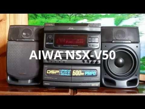 """Обзор музыкального центра """"Aiwa NSX-V50"""" из Японии."""
