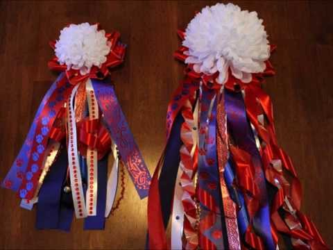 How To Make A Homecoming Mum Youtube